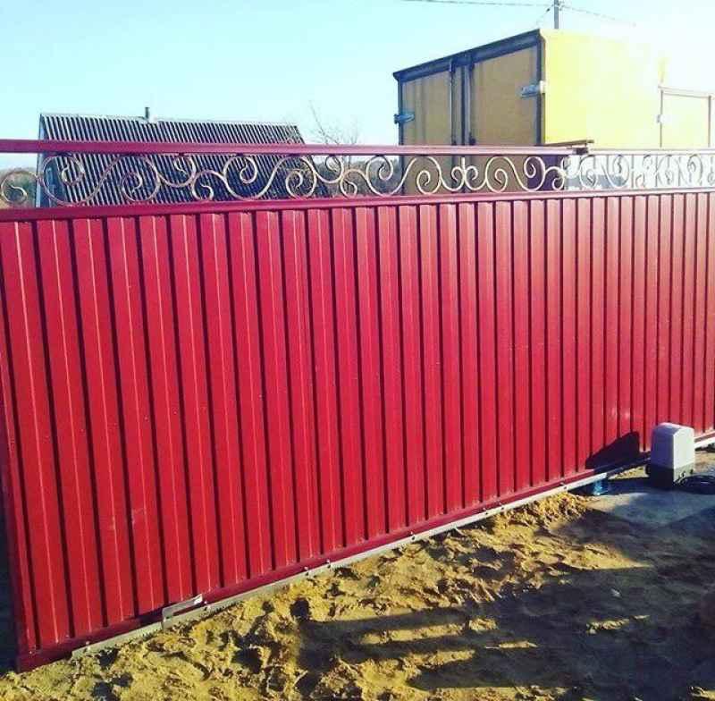 Откатные ворота цена в тольятти ворота сарни